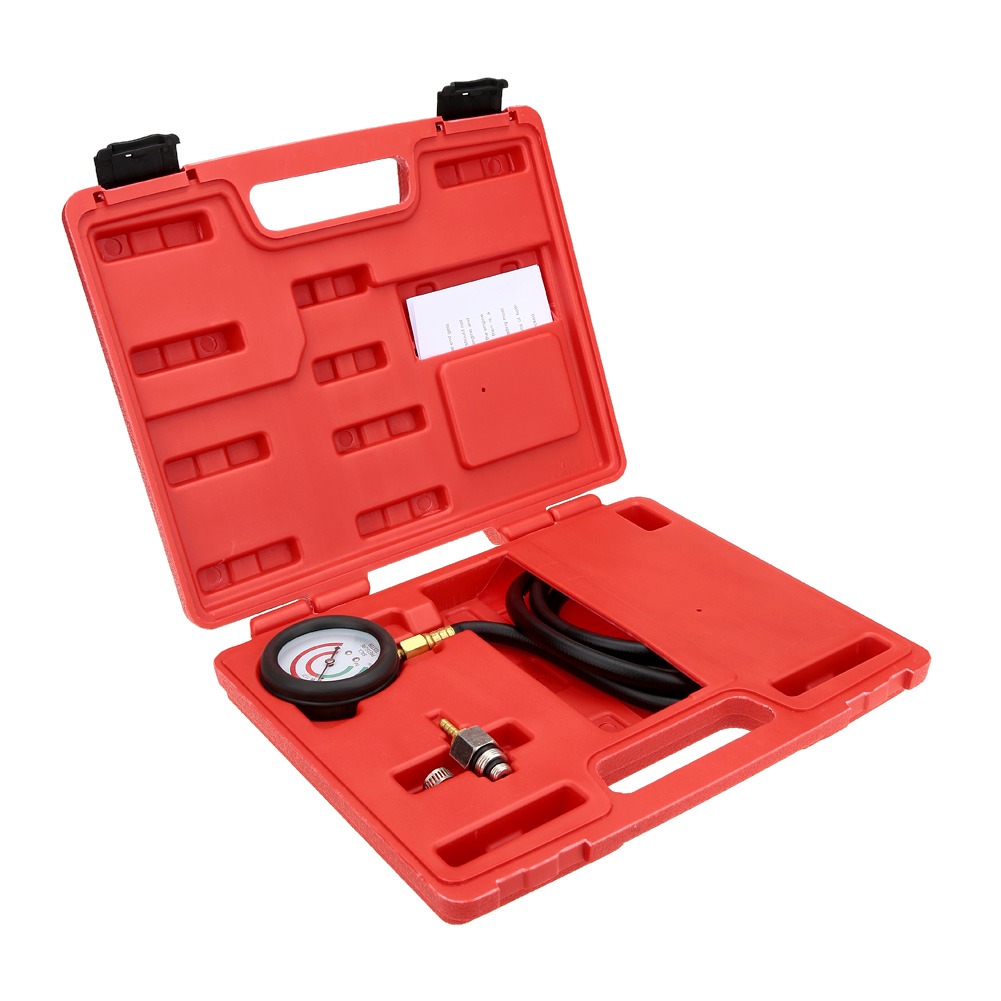 A0017 Auto Pressure Tester Exhaust Back Pressure Tester Set Pressure Gauge Test Tool Kit Sensor