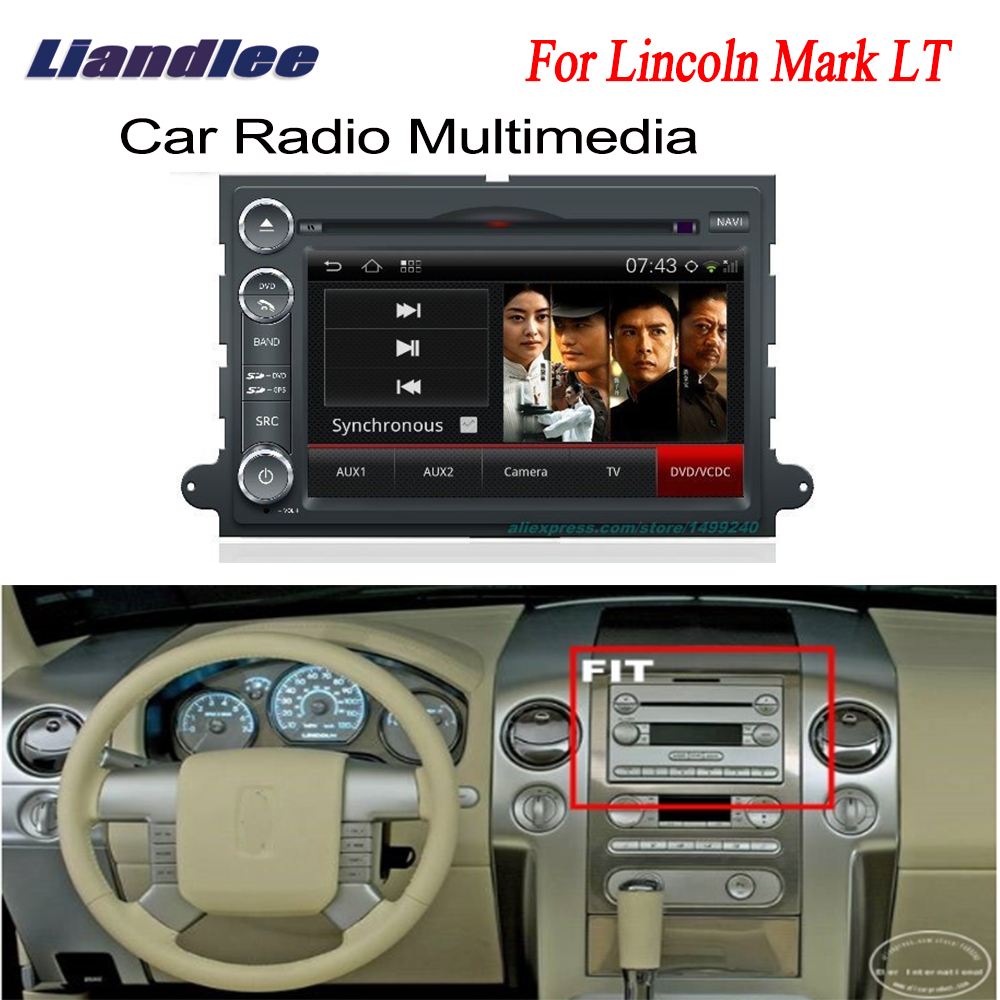 Car Android GPS For Lincoln Mark LT 2007~2009 Navigation Radio TV DVD Player Audio Video Stereo Multimedia System
