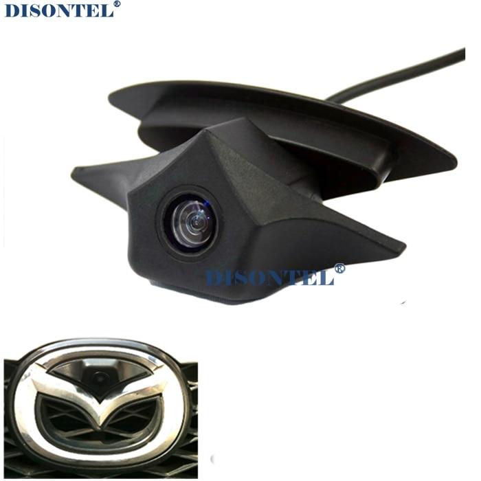IP68 Étanche grand angle 480 TVL HD Couleur pour Mazda Logo Avant Caméra Mazda 2 3 5 6 8 CX-7 CX-9