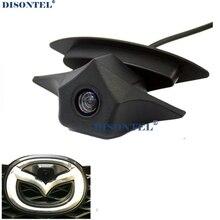 IP68 Водонепроницаемый широкоугольный 520 ТВЛ HD Цвет Парковка Вид спереди Камера для Mazda Логотип Камера для Mazda 2 3 5 6 8 CX-7 CX-9