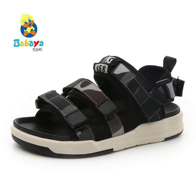 Babaya Children's sandals beach sandals shoes for 3-14 Years old boys boy kid toddle children infant infantile toddle size 26-37 babyfeet newborn baby boy shoes toddler sandals leather non slip kids shoes 0 1 years old boy girl children infant infantile