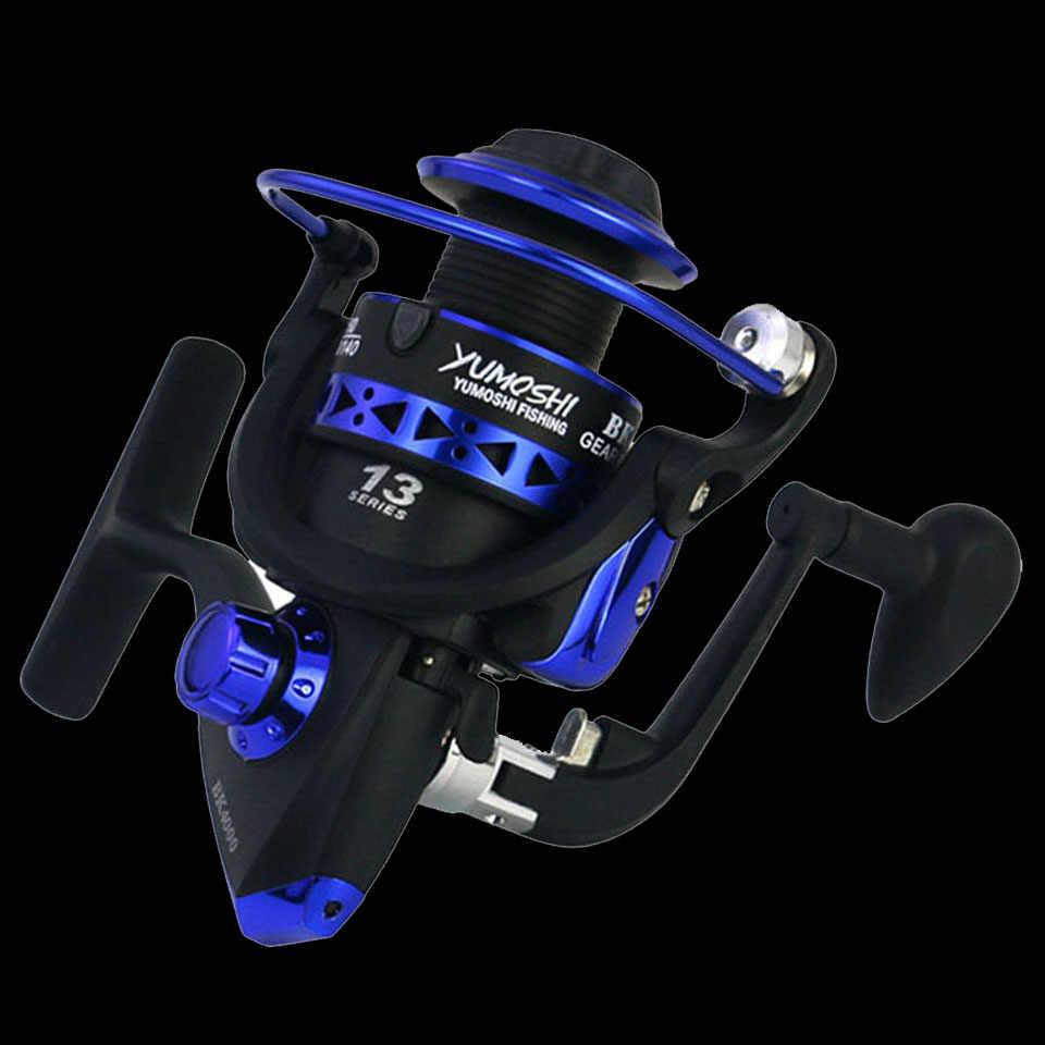 Mulinello da pesca professionale WALK FISH 13 BB 5.1:1 velocità mulinello da pesca spinning mulinello da pesca intermodificato ruota sinistra/destra