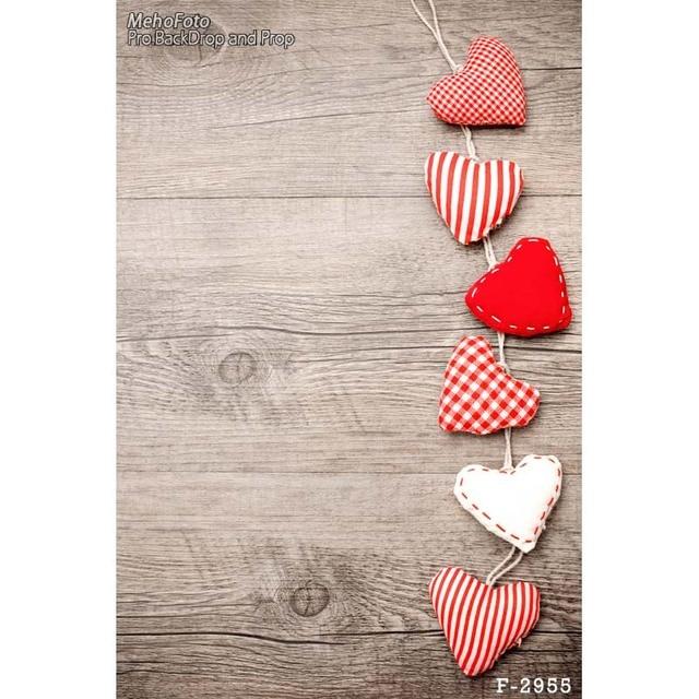 Vintage Heart Background Vinyl Photograp...