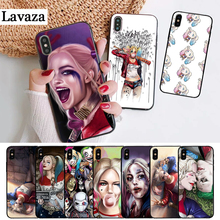 Lavaza Harley Quinn Suicide Squad Silicone Case for iPhone 5 5S 6 6S Plus 7 8 11 Pro X XS Max XR цена