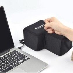 Anti-stress vent toys Big Enter desktop toy punch bag USB Desktop Pillow Hand Rests Enter Key best gift for girlfriend/boyfriend