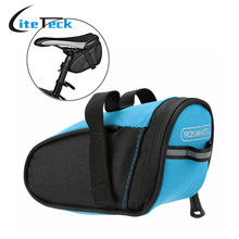 New Arrival Roswheel Outdoor Cycling Mountain Bike Bags Bicycle Saddle Bag Back Seat Tail Pouch Package Black/Green/Blue/Red