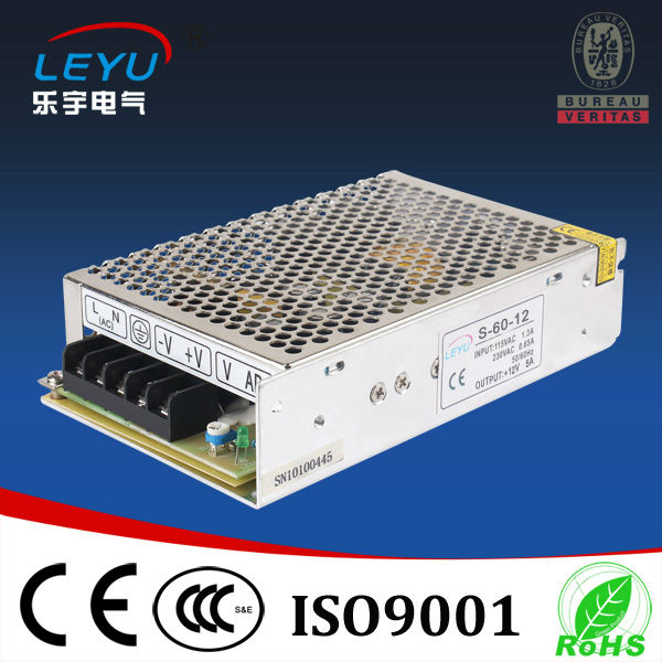 Leyu <font><b>60W</b></font> <font><b>5V</b></font> 12A power supply high quality low cost PSU polupar in Europe image