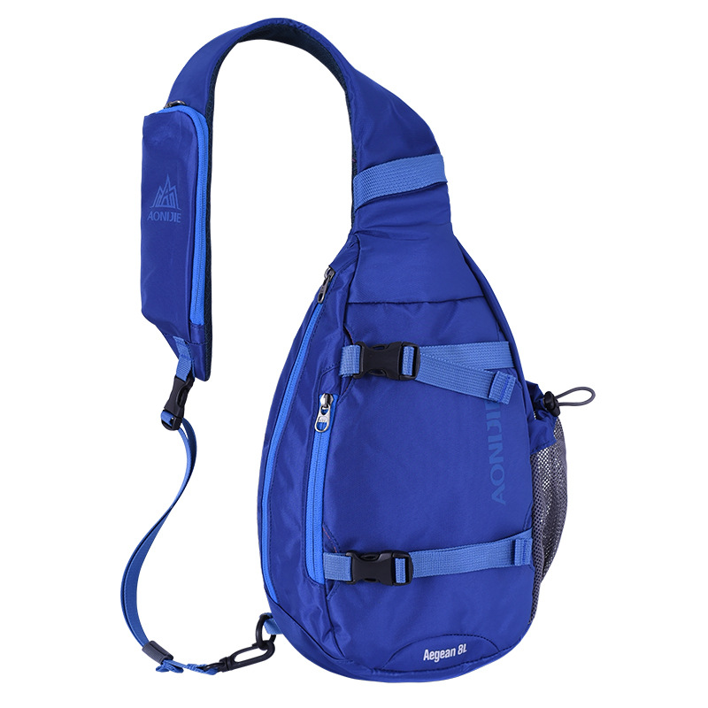 Sling Bag Shoulder Crossbody Chest Backpack Travel Hiking Outdoor Sport Blue