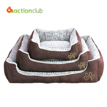Actionclub Dog House Pets Beds Big Dogs Fashion Soft  Dog House High Quality PP Cotton Pet Beds For Big Pets Products Cats HP765
