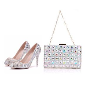Crystal Queen High Heel Pointe