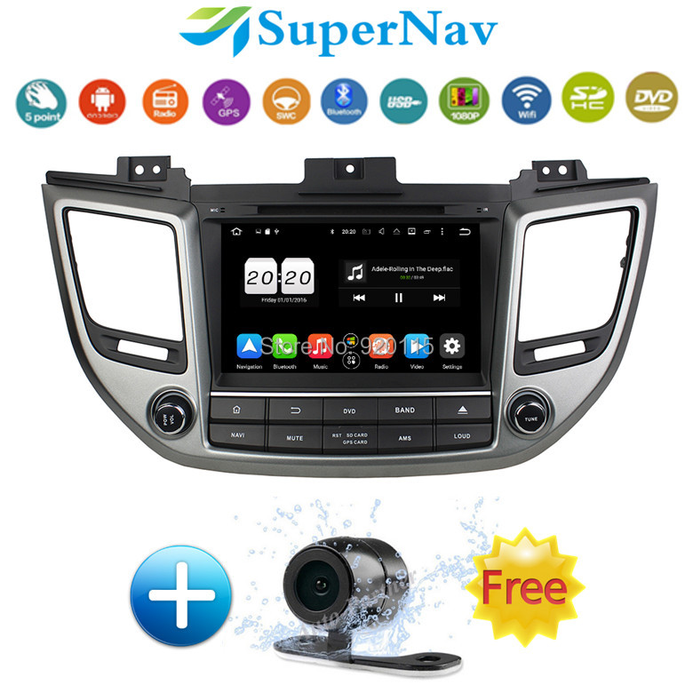 1024 600 8 inch android 6 0 1 car dvd player for hyundai. Black Bedroom Furniture Sets. Home Design Ideas