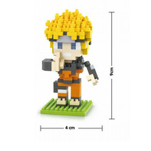 Naruto Block Action Figures in 4 Characters