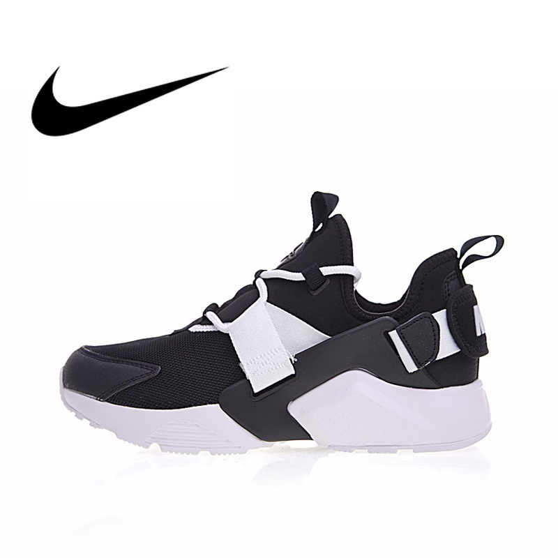d4964276f07 Original Authentic Nike Air Huarache Womens Running Shoes Sneakers  Breathable Sport Outdoor Designer Footwear 2019 New