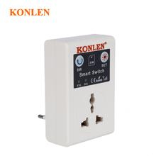 KONLEN 10A GSM gniazdko kontakt elektryczny przekaźnik przełącznik pilota sterowanie domowe SMS połączenie telefoniczne APP Smart EU UK Plug cheap KL-SC1-GSM GSM850 900 1800 1900mhz less than 2200w 50Hz by phone call or sms