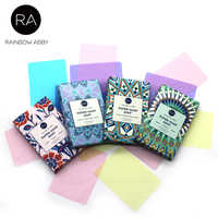 25PCS/Box Portable Disposable Soap Paper Refreshing Scent Mini Washing Hand Soap Outdoor Travel 4 Flavors/Set