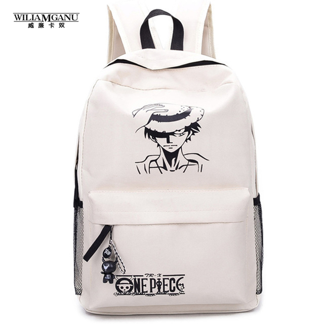 One Piece Luffy School Bags Backpack Shoulder Bag