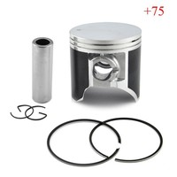 TSR200 Piston Kit With Rings And Clips Motorcycle Engine Parts Piston Set For Suzuki TSR 200