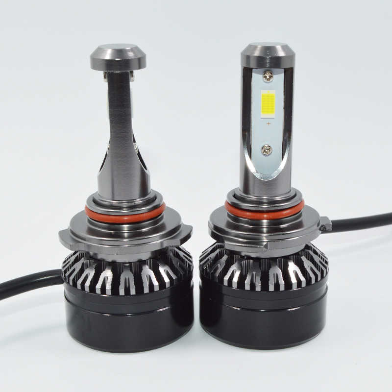 Super Bright 10000LM Car Lighting Car Headlights 9006 HB4 60W LED Bulb Auto Front Bulb Automobiles Headlamp White 6000K