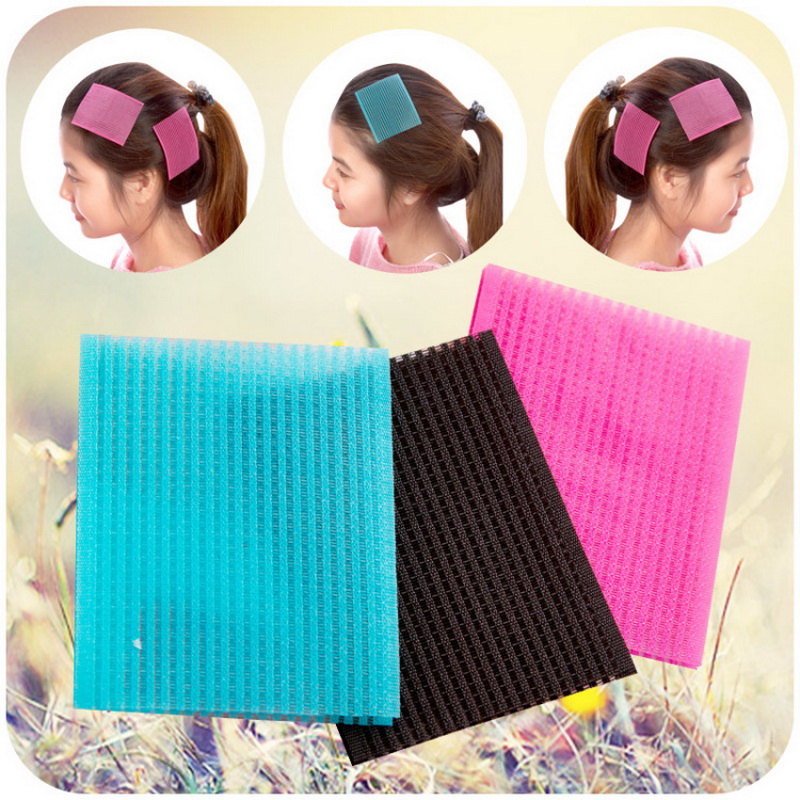 Novel Front Hair Fringe Fashion Stabilizer Makeup Sticker Pad Patch Pastel Hair Accessories Hair Styling Tools For Party Gift