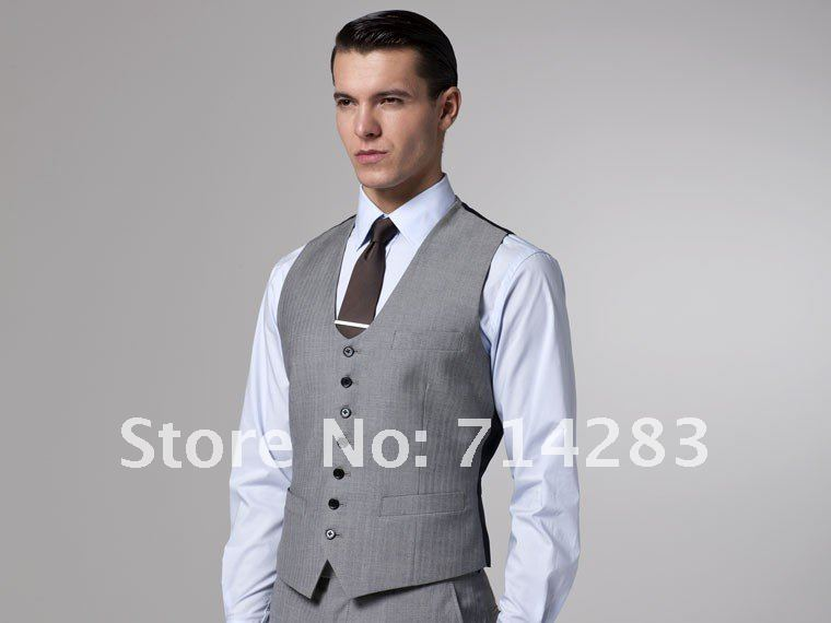 Men'S Fitted 3 Piece Suits | My Dress Tip