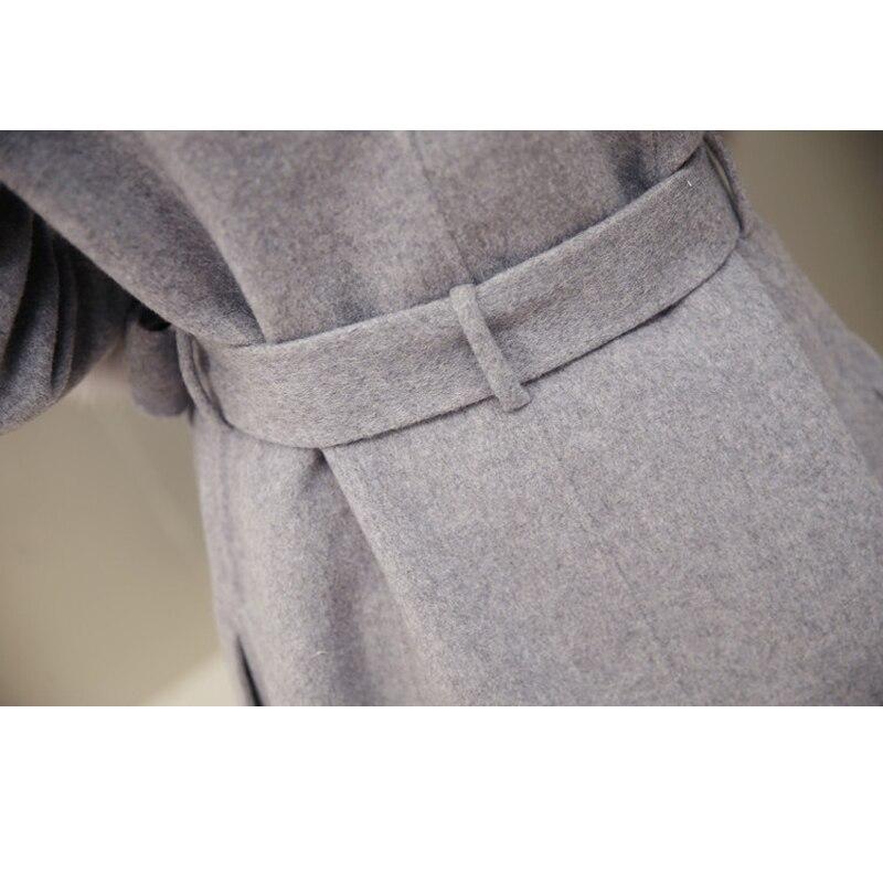 Section w02 Lanterne Velours w03 Laine Haute Manches Qualité Mode Veste Longue De Femmes Hiver Angleterre Épaississement Coton Manteau W01 Style Nouvelle Plus pYqRz