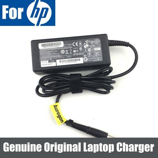 18,5 V 3.5A 65 Вт оригинальный адаптер переменного тока Зарядное устройство Питание для hp Probook 430 440 450 455 640 645 650 655 G1 G2