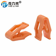KE LI MI Orange Plastic Auto Instrument Panel Dashboard Retainer Rivet Snaps Clips