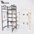 2016 Good Quality 3 Doors Earrings Necklace Pendent Jewelry Display Metal Stand Rack Holder Home Organizer Free Shipping