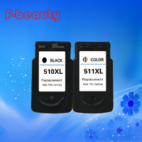 High quality PG510 CL511 ink cartridge compatible for CANON MP240 MP250 MP260 MP270 MP272 MP280 MP480 MP490 MP492 MX320 MX330