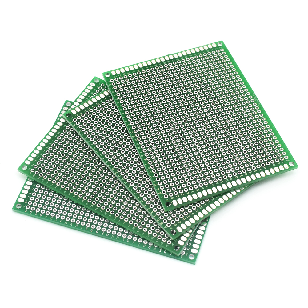 Protoype Blank PCB 2 Layers Double Side 2x8cm 168 Holes Protoboard Breadboard