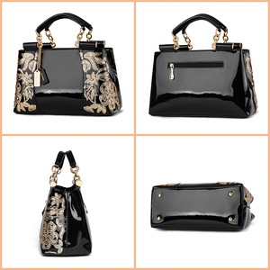 Image 3 - Nevenka Embroidery Women Bag Leather Purses and Handbags Luxury Shoulder Bags Female Bags for Women 2019