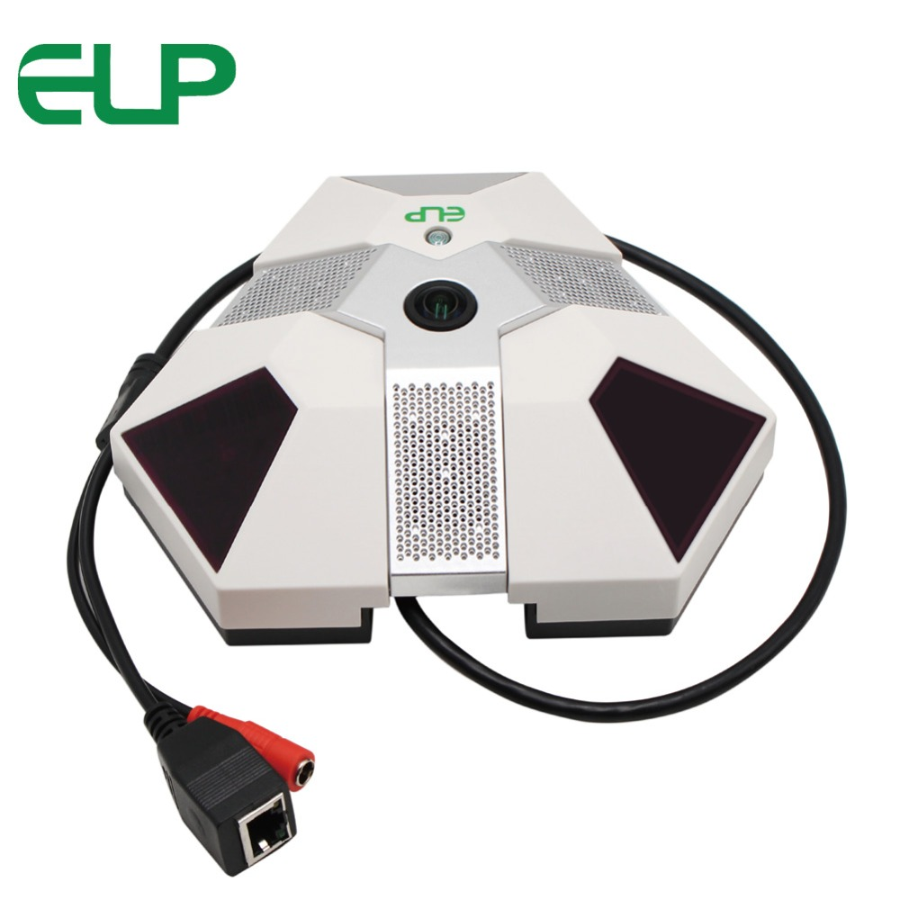 ELP Onvif Fisheye 1080P IP Camera POE IR Night Vision With 5MP 1.56mm Lens 2MP CMOS 360 Degree Wide View CCTV Camera PanoramaELP Onvif Fisheye 1080P IP Camera POE IR Night Vision With 5MP 1.56mm Lens 2MP CMOS 360 Degree Wide View CCTV Camera Panorama
