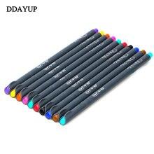 Ручка гелевая цветная для рисования манги 038 мм 10 шт