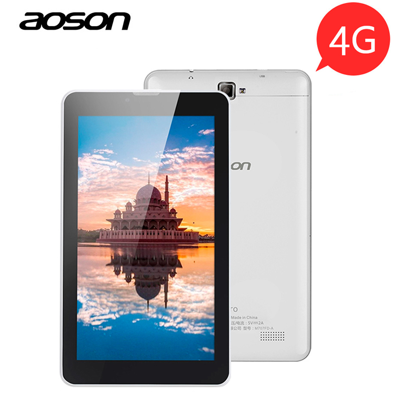 Aoson S7 PRO 7 inch 3G 4G LTE FDD Phablet 1GB 8GB Android 6 0 HD
