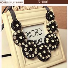 Luxury statement alloy link chain fashion 2015 new jewelry necklace women collares mujer accessories vintage collar necklace