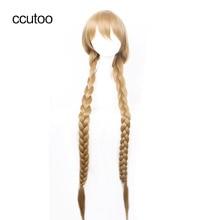 ccutoo The honey dew 120cm Blonde Long Braid Straight High T