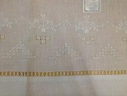 Novità Unisex Fazzoletti 12 PZ/Lot70 * 102 CM Bianco Fazzoletto di lino Ricamato Floreale Dell'annata Vacanza Fazzoletti Per Le Occasioni