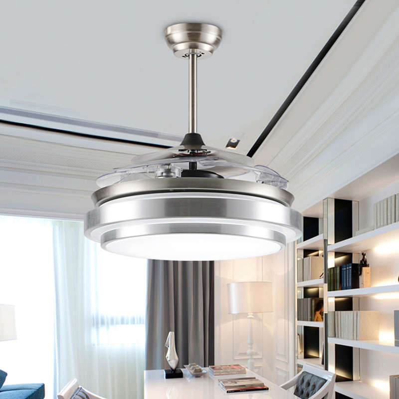 Modern Fan With Lighting Ideas For Contemporary Bedroom: Popular Modern Ceiling Fans With Lights-Buy Cheap Modern