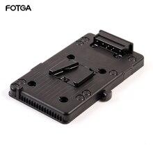 لوحة مهايئ بطارية FOTGA V mount V lock D Tap BP لوحة مهايئ خارجية لجهاز Sony DSLR