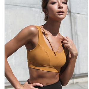 Image 3 - กีฬาBra High Impact Workout Braเซ็กซี่ตัดOutโยคะActiveเบาะกีฬาสวมใส่ผู้หญิงGym