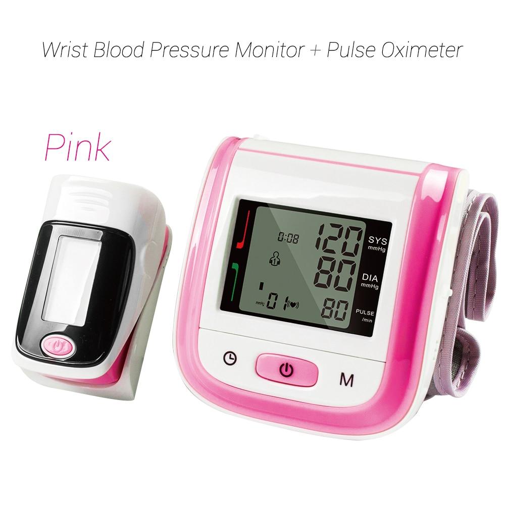 Image 5 - Yongrow Wrist Medical Digital  Blood Pressure Monitor Sphygmomanometer Finger Pulse Oximeter SpO2 Saturation Meter Family Health-in Blood Pressure from Beauty & Health