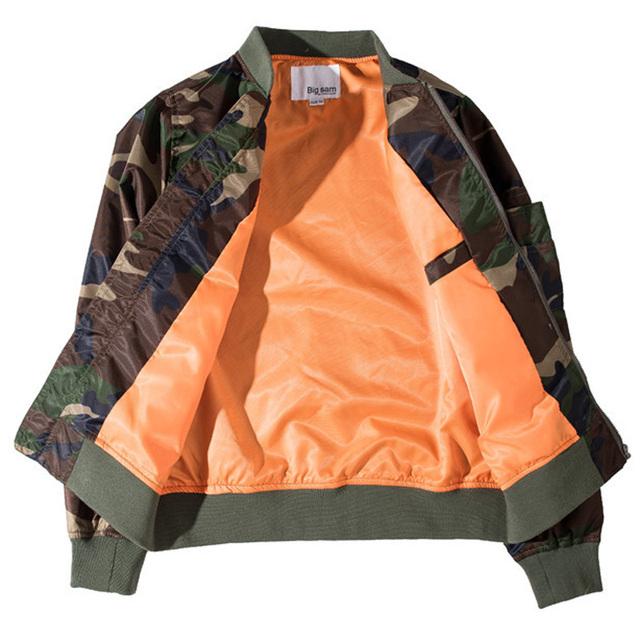 Rambo Camouflage Bomber Jacket