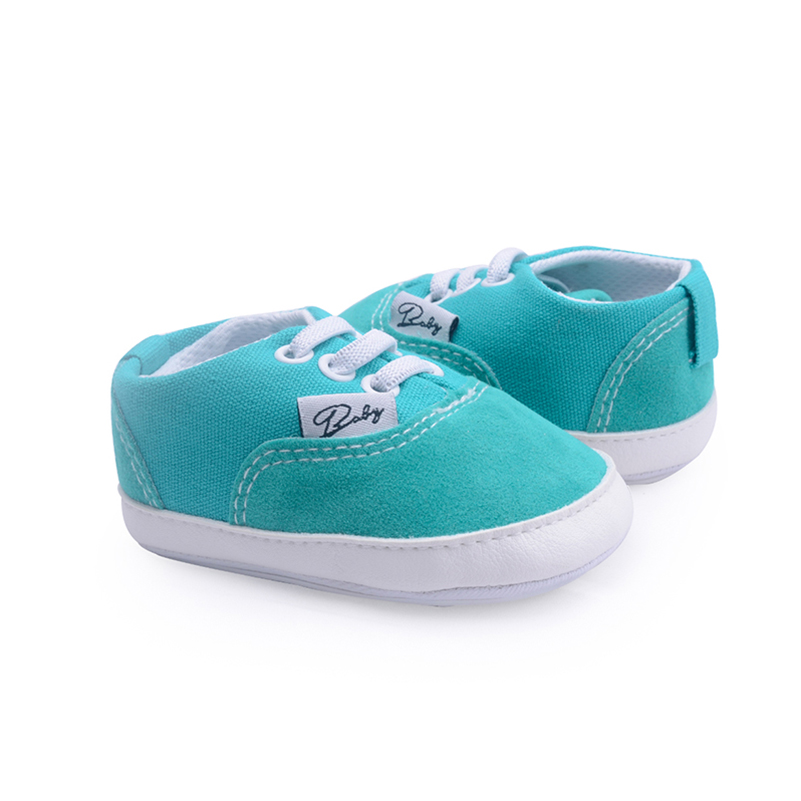 Baby boy girls shoes newborn infant Skid-Proof canvas sneaker moccasins first steps crib shoes footwear soft sole for babies new