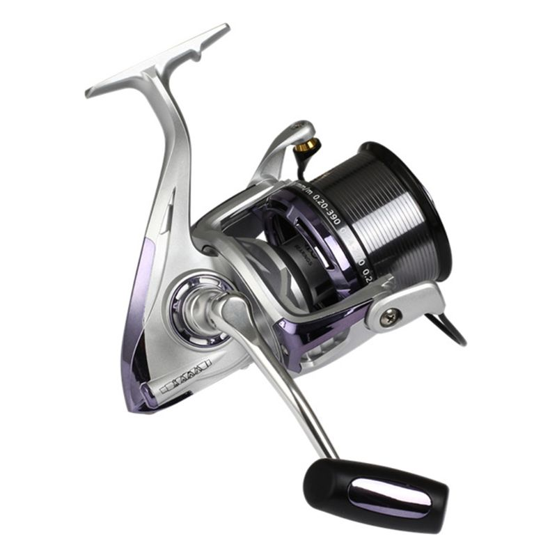 8000/10000/12000 Metal Fishing Reel Long-range Throwing Fishing Rod Anchor Fish Spinning Wheel Anti-sea Water Fishes Wheels
