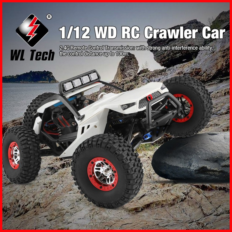 High Speed Wltoys 12429 1/12 2.4G 4WD40km/h Off-Road On-Road Radio Control RC Car Buggy With Head LightHigh Speed Wltoys 12429 1/12 2.4G 4WD40km/h Off-Road On-Road Radio Control RC Car Buggy With Head Light