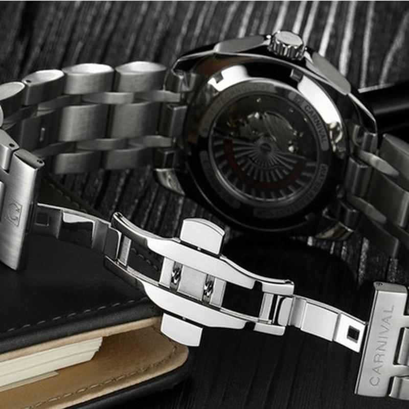 Karnavalo aukščiausios kokybės prekės ženklo automatiniai - Vyriški laikrodžiai - Nuotrauka 4