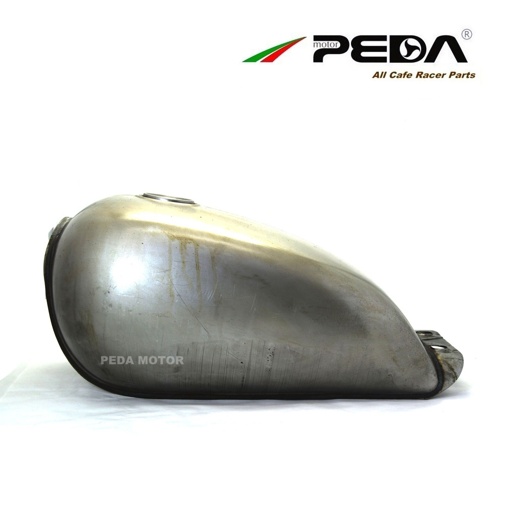 1FS PEDA Cafe Racer Retro fuel tank 9L GN motorcycle vintage petrol can gasoline tank for HONDA CG GN for YAMAHA with cap lock motorcycle rafe racer fuel gas cap petrol tank cover aluminum for ducati scrambler