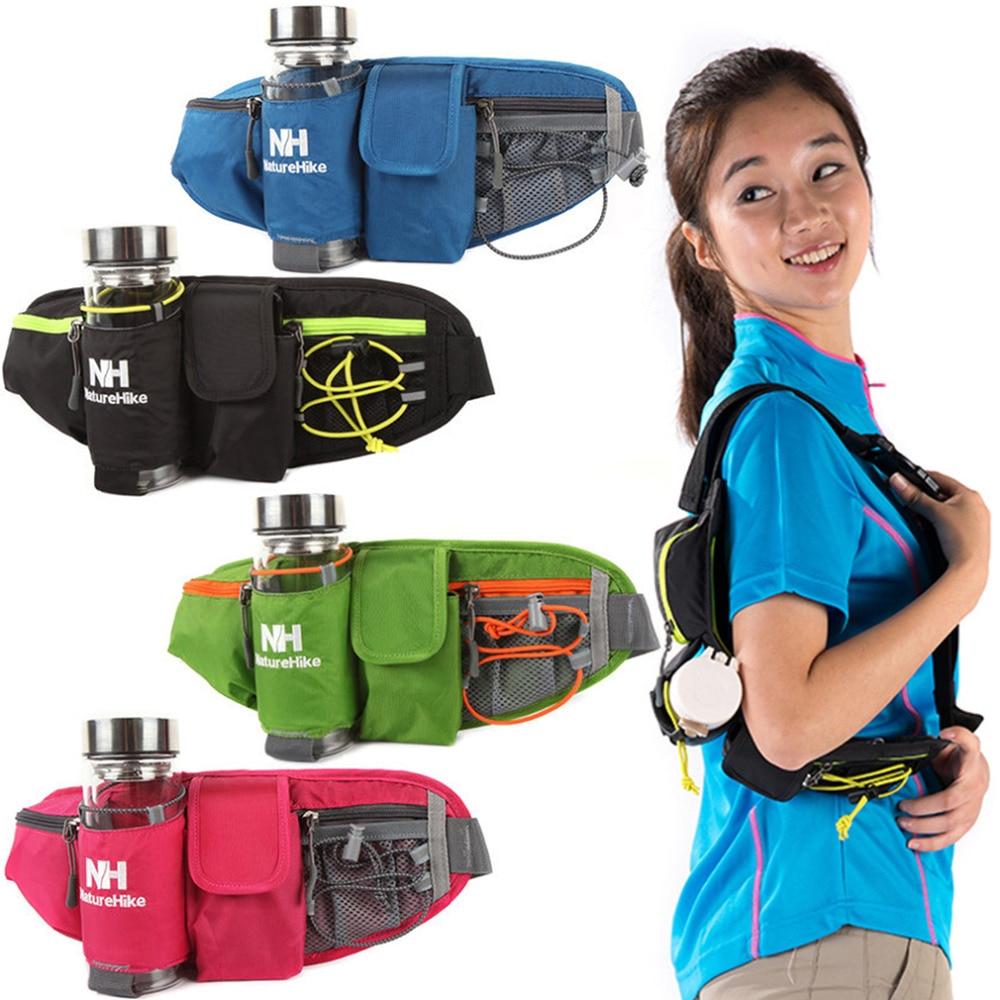 Prix pour En plein air Naturehike Sports Camping Escalade Bourse Taille Sac Avec Bouilloire Téléphone Poches pour la randonnée livraison gratuite