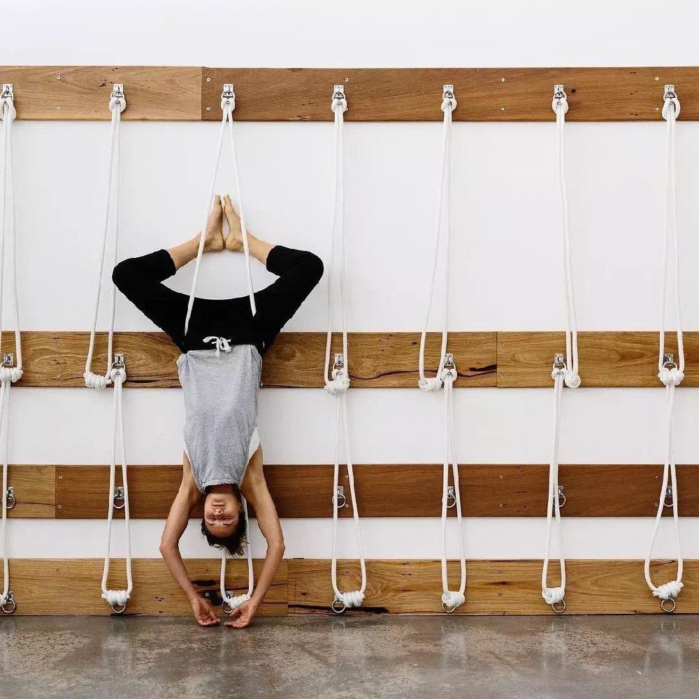 HobbyLane support de Yoga suspendu corde support mural Air Yoga Assistant sangle bande Flexible