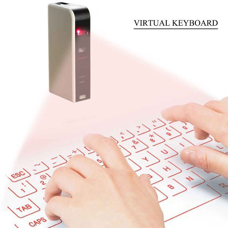 Mini Laser keyboard Official Virtual Projection Bluetooth Wireless Keyboard for Tablets /iPad/iPhone/Android Smart Phones portable bluetooth wireless virtual laser keyboard mini bluetooth projection keyboard for windows for mobile phones